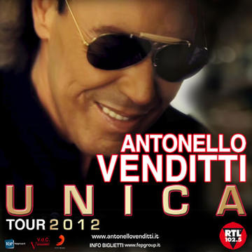 Antonello Venditti Unica Tour